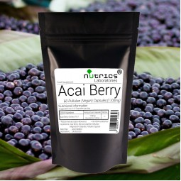 ACAI BERRY 1100mg 60 Vegan Capsules ACAI Extract