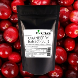 CRANBERRY Extract 21000mg  100 Vegan Capsules