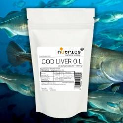 Cod Liver Oil EPA DHA  VITAMIN A  VITAMIN D3 1000mg  Softgel Capsules