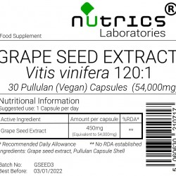 Grapeseed Extract 54,000mg V Capsules