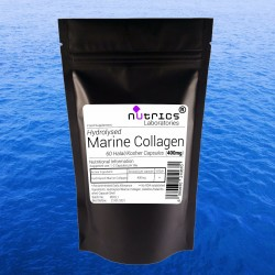 Hydrolyzed Fish Marine Collagen 400mg Capsules