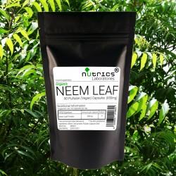 Neem Leaf (Organic) 650mg V Capsules