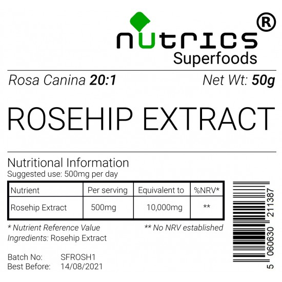 Rosehip Extract 20:1 Vegan Powder