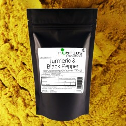Turmeric and Black Pepper 750mg V Capsules