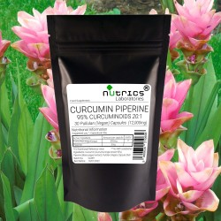 Curcumin and Piperine 12,000mg V Capsules