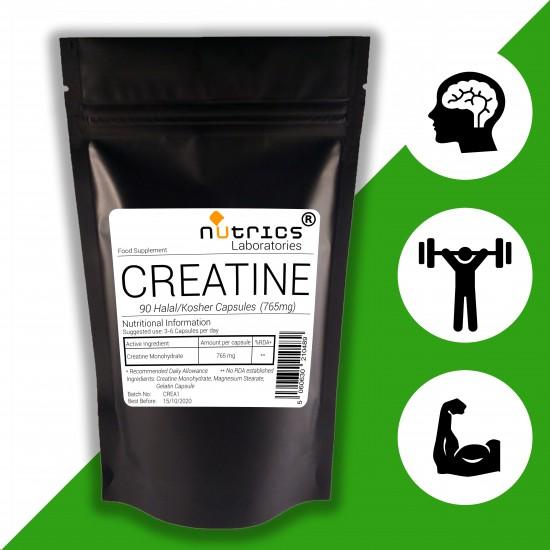 Creatine Monohydrate 765mg Capsules