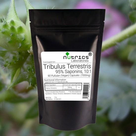 Tribulus Terrestris 95% Saponins 700mg Capsules