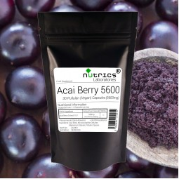 ACAI BERRY EXTRA Extract 5600mg 30 Vegan Capsules