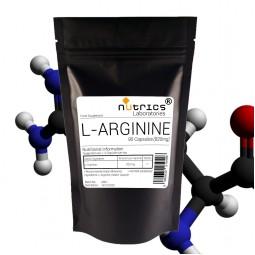 L-ARGININE 820mg Nitric Oxide 90 Capsules