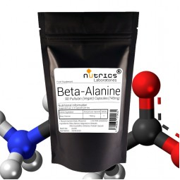BETA ALANINE 740mg x 90 Vegan Capsules