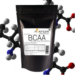 BCAA Branched Chain Amino Acids - 665mg - 90 Vegan Capsules