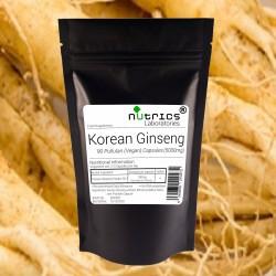 Korean Ginseng 80% Ginsensides 5000mg Capsules