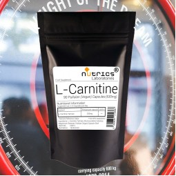 L CARNITINE MEGA 630mg x 90 Capsules Fat Burner