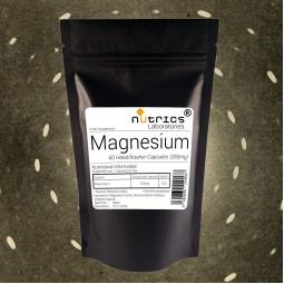 Elemental Magnesium - 350mg - Magnesium Capsules Supplement