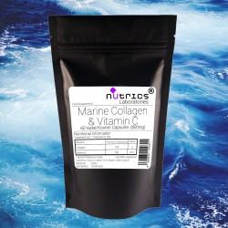 Marine Collagen & Vitamin C 800mg Capsules