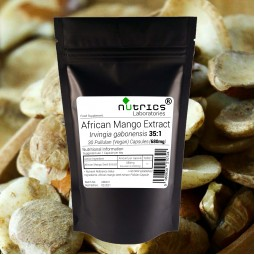 AFRICAN MANGO EXTRACT 23800mg STRONG 100% Pure Vegan Capsules