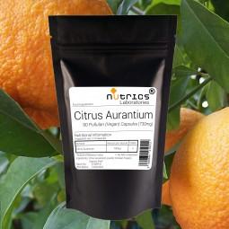 CITRUS AURANTIUM BITTER ORANGE 730mg x 90 Vegan Capsules