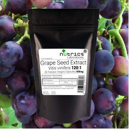 GRAPE SEED EXTRACT 54000mg STRONG 30 Vegan Capsules