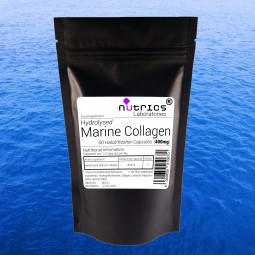 MARINE COLLAGEN 400mg x 60 Capsules Anti Wrinkle Supplement