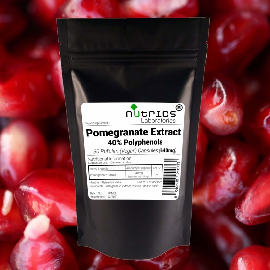 Pomegranate Seed Extract 640mg Capsules