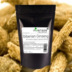 Siberian Ginseng Root 400mg Capsules