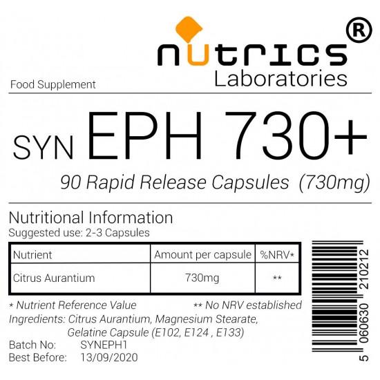 SYN EPH 730+ Syneph 730mg Capsules